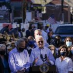 Biden heads west to assess wildfires, campaign for Newsom